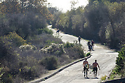 Surfers on the Road to Trestles Surf Spot at San Onofre State Beach