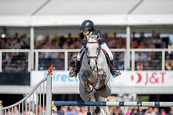 Gulliksen Victoria, NOR, Ibiza<br /> FEI WBFSH Jumping World Breeding Championship for Young Horses<br /> Lanaken 2019<br /> © Hippo Foto - Dirk Caremans<br />  22/09/2019