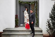 Chanel Iman Christmas Shoot