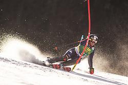 Federica Brignone (ITA) during the Ladies' Slalom at 56th Golden Fox event at Audi FIS Ski World Cup 2019/20, on February 16, 2020 in Podkoren, Kranjska Gora, Slovenia. Photo by Matic Ritonja / Sportida