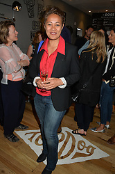 MONICA GALETTI at a party to celebrate the launch of Top Dog at 48 Frith Street, Soho, London on 27th May 2015