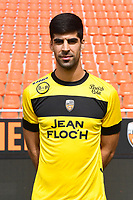 Danijel Petkovic during photoshooting of FC Lorient for new season 2017/2018 on September 12, 2017 in Lorient, France. (Photo by Philippe Le Brech/Icon Sport)