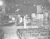 1955 Interior of the El Capitan Theater on Vine St.