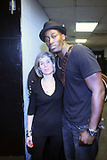 l to r: Jill Newman and Jermaine Paul at Leela James Produced by Jill Newman Productions held at BB KINGS on December 30, 2008 in New York City..