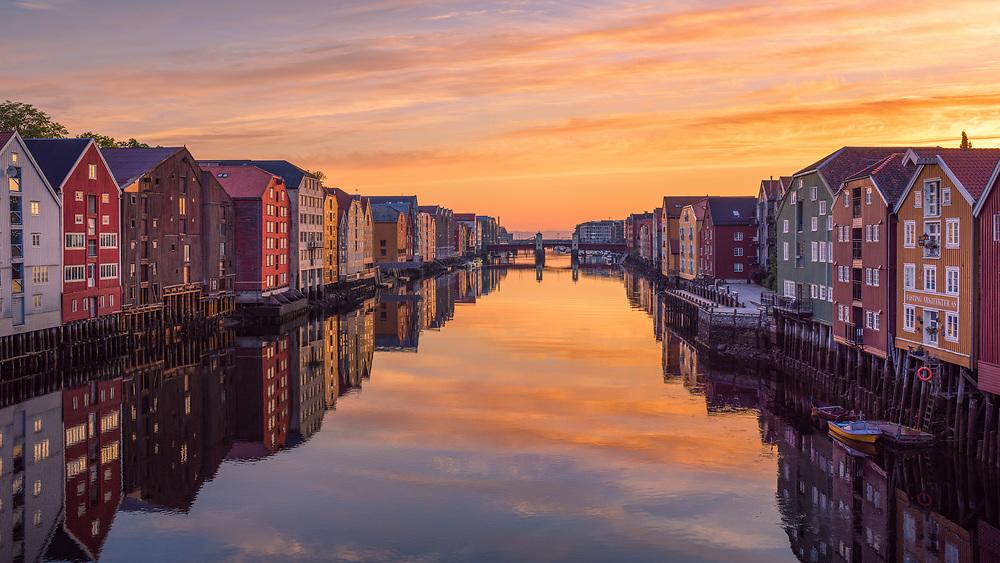 Trondheim, Norway. August 2020.