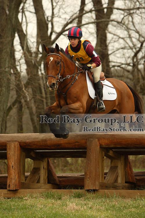 Mara Dean (USA) and Nicki Henley at the Morven Park Spring Horse Trials held in Leesburg, Virginia