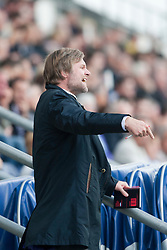Steven Pressley, Falkirk manager..Falkirk 2 v 1 Partick Thistle, 13th August 2011..© pic : Michael Schofield.