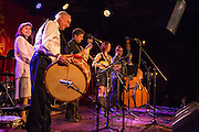 New York band Cherven Traktor played traditional Bulgarian music.