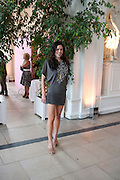 ZOE GRIFFIN, English National Ballet Summer party.  All proceeds from the Summer Party go towards English National Ballet. The Orangerie. Kensington Palace. London. 29 June 2011. <br /> <br />  , -DO NOT ARCHIVE-© Copyright Photograph by Dafydd Jones. 248 Clapham Rd. London SW9 0PZ. Tel 0207 820 0771. www.dafjones.com.