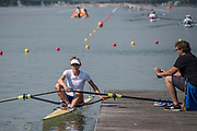 Plovdiv, Bulgaria, {DATE, }FISA, Rowing World Cup 1,  , [© Karon PHILLIPS/ Intersport Images]