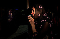 A woman believed to be a relative cries as she waits for news of Imran Khan, chairman of the Pakistan Tehreek-e-Insaf political party, who was injured falling from a forklift truck while arriving on stage at a campaign rally, at the Shaukat Khanum Memorial Cancer Hospital and Research Centre in Lahore, Pakistan, Tuesday, May 7, 2013. Pakistan is due to hold a general election on May 11, the first transition of power between democratically elected governments.