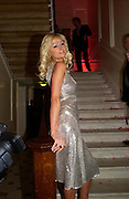 Paris Hilton. Paris Hilton's Fragrance Launch Party at Il Bottaccio, Grosvenor Place. London. 16 May 2005. . ONE TIME USE ONLY - DO NOT ARCHIVE  © Copyright Photograph by Dafydd Jones 66 Stockwell Park Rd. London SW9 0DA Tel 020 7733 0108 www.dafjones.com