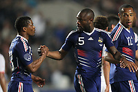 FOOTBALL - FRIENDLY GAME 2010 - TUNISIA v FRANCE - 30/05/2010 - PHOTO ERIC BRETAGNON / DPPI - JOY PATRICE EVRA (FRA) / WILLIAM GALLAS (FRA)