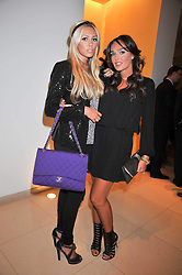 Left to right, sisters PETRA ECCLESTONE and TAMARA ECCLESTONE at the St.Martins Lane Hotel 10th year bash held on 9th September 2009.