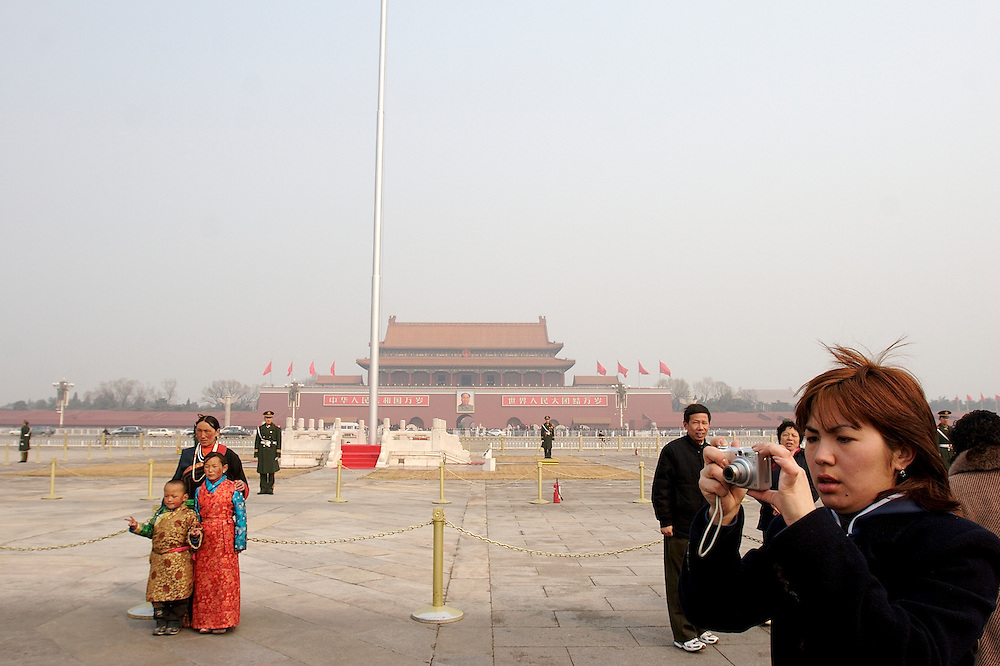 Tiananmen Square in Beijing, China is the largest public square in the world at 100 acres.