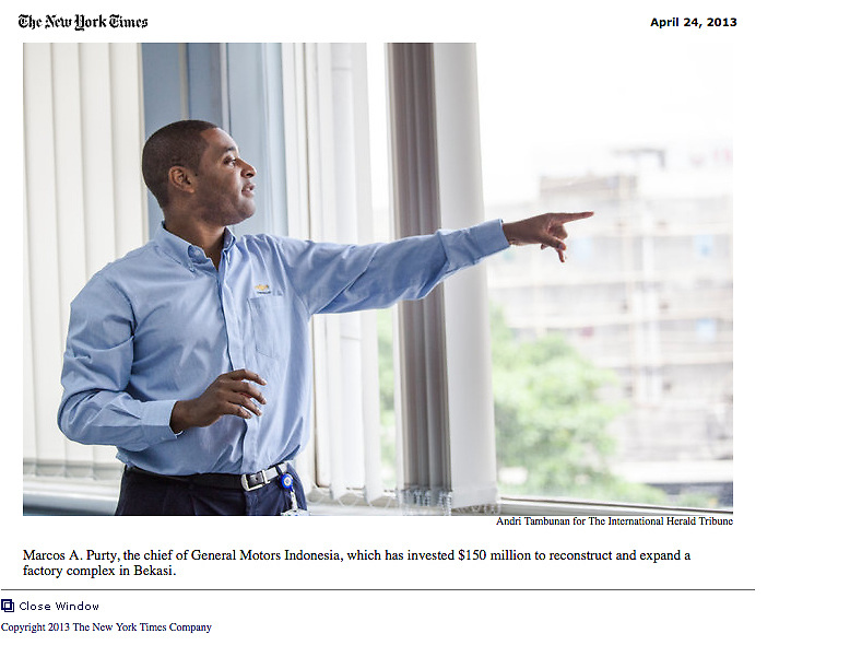 Indonesia Sees Foreign Investment Surge. http://www.nytimes.com/pages/business/index.html