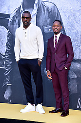 Idris Elba and Aml Ameen attending the premiere of Yardie at the BFI Southbank, London.