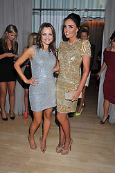 Left to right, MARIA HATZISTEFANIS and TAMARA ECCLESTONE at the 2012 Rodial Beautiful Awards held at The Sanderson Hotel, Berners Street, London on 6th March 2012.