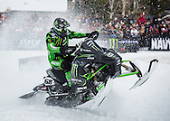 Tucker Hibbert at the Winter X Games in Aspen, Colorado.