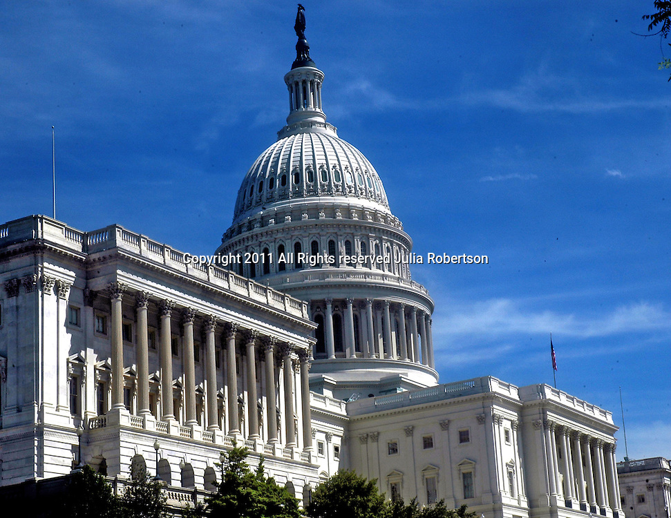View of the United States Capitol, Capitol Building, Site of January 6th Insurrection by Trump Supporters,  United States House of Representatives