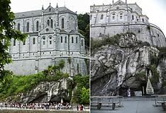 Lourdes Sanctuary Composite Images - 13 April 2020