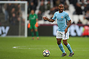Manchester City midfielder Raheem Sterling (7) during the Premier League match between West Ham United and Manchester City at the London Stadium, London, England on 29 April 2018. Picture by Toyin Oshodi.