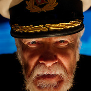 """Lowell Lytle, an actor who has portrayed Titanic Captain Edward J. Smith, Commodore of White Star Line for the past 14 years, took a 12-hour submarine vessel down to see the actual shipwreck in 2000. Lytle visited """"Titanic: The Artifact Exhibition,"""" at Union Station in Kansas City, Mo."""