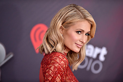 Paris Hilton attends the 2018 iHeartRadio Music Awards at the Forum on March 11, 2018 in Inglewood, California. Photo by Lionel Hahn/AbacaPress.com