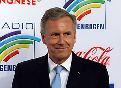 12.04.2019, Europa Park, Rust, GER, Radio Regenbogen Award 2019, im Bild Laudator Christian Wulff // during the Radio Rainbow Award at the Europa Park in Rust, Germany on 2019/04/12. EXPA Pictures © 2019, PhotoCredit: EXPA/ Eibner-Pressefoto/ Joachim Hahne<br /> <br /> *****ATTENTION - OUT of GER*****