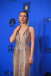 January 6, 2019 - Los Angeles, California, U.S. - Saoirse Ronan in the Press Room during the 76th Annual Golden Globe Awards at The Beverly Hilton Hotel. (Credit Image: © Kevin Sullivan via ZUMA Wire)
