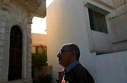 Sabah Khesbak, Vice President of the Iraqi American Chamber of Commerce & Industry is seen in Baghdad, Iraq, Feb, 7, 2004. Khesbak  is an entrepreneur who says the lack of security has affected the amount of economic growth in the country.