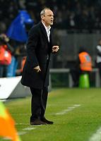 L'allenatore Delio Rossi (Palermo)<br /> Torino 28/02/2010 Stadio Olimpico<br /> Juventus Palermo - Posticipo del Campionato di Serie A Tim 2009-10.<br /> Foto Insidefoto
