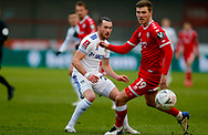 Leeds United midfielder Jack Harrison (22), on loan from Manchester City,  during the The FA Cup match between Crawley Town and Leeds United at The People's Pension Stadium, Crawley, England on 10 January 2021.