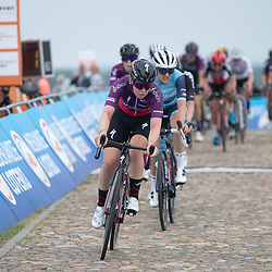 WIJSTER (NED) June 19: <br /> CYCLING <br /> Dutch Nationals Road WOMEN up and around the Col du VAM<br /> Lonneke Uneken (Netherlands) in action during Nationals