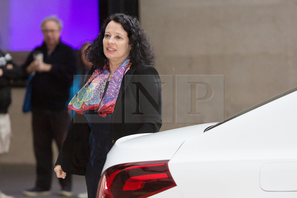 © Licensed to London News Pictures. 15/11/2015. London, UK. French Ambassador, SYLVIE BERMANN arrives at BBC Broadcasting House in London to appear on the Andrew Marr Show. Photo credit : Vickie Flores/LNP