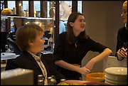 AMES OLSEN; CAMILLE ORMANDY; MILLIE WATSON, Dinosaur Designs launch of their first European store in London. 35 Gt. Windmill St. 18 September 2014