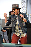 Bruno Mars performs at the Bamboozle Music Festival. Meadowlands Sports Complex, East Rutherford, NJ. May 1, 2011. Copyright © 2011 Todd Owyoung.