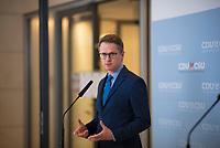 DEU, Deutschland, Germany, Berlin, 12.05.2020: Carsten Linnemann, stv. Vorsitzender der CDU/CSU-Bundestagsfraktion, bei einem Pressestatement im Deutschen Bundestag.