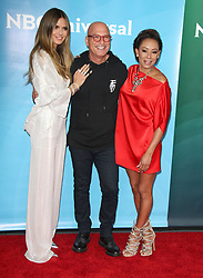 NBCUniversal Summer Press Day at Universal Studios in Hollywood, California on 5/2/18. 02 May 2018 Pictured: Heidi Klum, Mel B, Howie Mandel. Photo credit: River / MEGA TheMegaAgency.com +1 888 505 6342