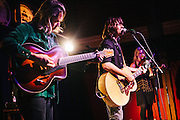 Rhett Miller with Jon Neufeld and Annalisa tornfelt at Mississippi Studios in Portland, OR.