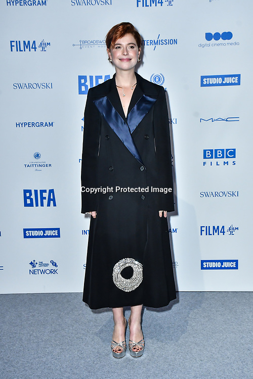 Jessie Buckley attends the 22nd British Independent Film Awards at Old Billingsgate on December 01, 2019 in London, England.