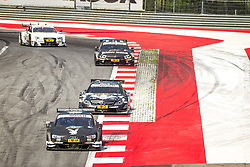 03.08.2014, Red Bull Ring, Spielberg, AUT, DTM Red Bull Ring, Renntag, im Bild Adrien Tambay, (FRA, Playboy Audi RS 5 DTM), Cristian Vietoris, (GER, Original Teile Mercedes AMG C-Coupe), Bruno Spengler, (CAN, BMW Bank M4 DTM), Nico Mueller, (SUI, Audi Financial Services Audi RS 5 DTM) // during the DTM Championships 2014 at the Red Bull Ring in Spielberg, Austria, 2014/08/03, EXPA Pictures © 2014, PhotoCredit: EXPA/ M.Kuhnke