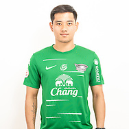 THAILAND - JUNE 11: Kampon Phatomakkakul #23 of Chon Buri FC on June 11, 2019.<br /> .<br /> .<br /> .<br /> (Photo by: Naratip Golf Srisupab/SEALs Sports Images/MB Media Solutions)