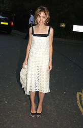 SHEHERAZADE GOLDSMITH at Sir David & Lady Carina Frost's annual summer party held in Carlyle Square, Chelsea, London on 5th July 2006.<br /><br />NON EXCLUSIVE - WORLD RIGHTS