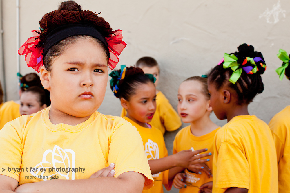 Melrose Leadership Academy students perform during the 2011 Spring Expo. MLA provides Spanish immersion instruction for its lower grade students. Melrose is an Oakland Unified School District school in Oakland, California.
