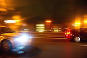 Nachtrit met de auto over de snelweg - Nightdrive with car on the highway