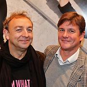 NLD/Amsterdam/20101115 - Opening fototentoonstelling neiuwe DelaMar theater, Jon van Eerd en partner Ton Fiere