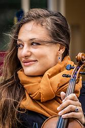 13AUG21 Scottish violinist Nicola Benedetti starts her residency at the Edinburgh International Festival.