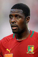 Football Fifa Brazil 2014 World Cup Matchs-Qualifier / Africa - Play-Off / <br /> Tunisia vs Cameroon 0-0  ( Olympic Stadium of Rades , Tunis-Rades , Tunisia ) <br /> Mohamadou IDRISSOU of Cameroon ,  during the match between Tunisia and Cameroon