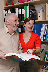 Support Worker preparing service user for education and employment,